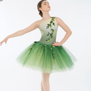 Other - Green Ballet dance costume Size MC